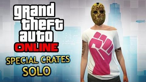 GTA Online - How to get Special Crates (Solo Method)