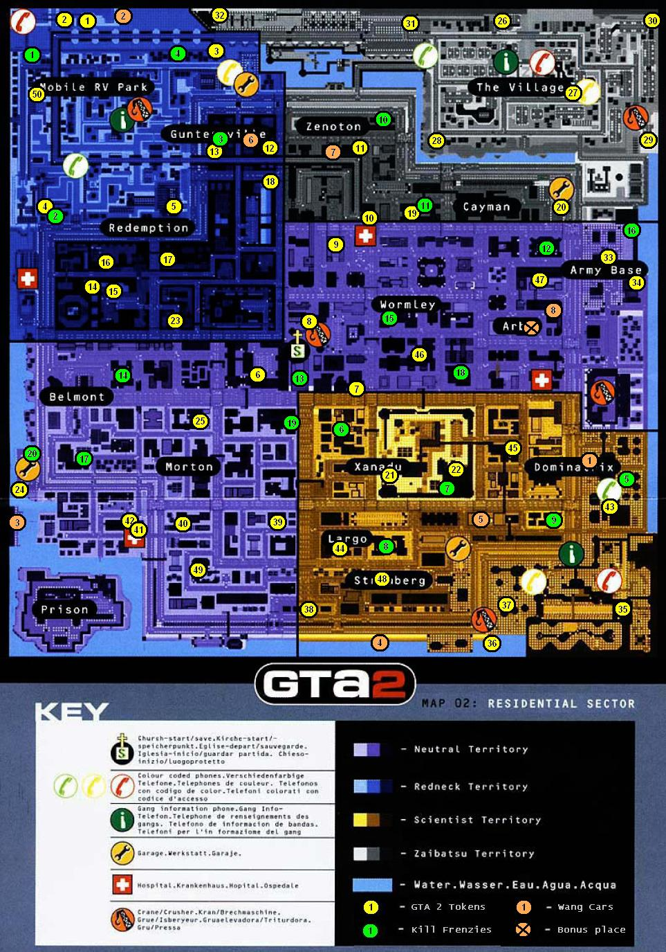 Gta 2 gameboy color - Residential
