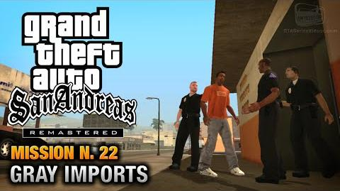 GTA San Andreas Remastered - Mission 22 - Gray Imports (Xbox 360 PS3)