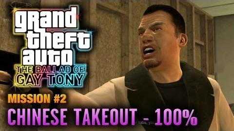 GTA The Ballad of Gay Tony - Mission 2 - Chinese Takeout 100% (1080p)