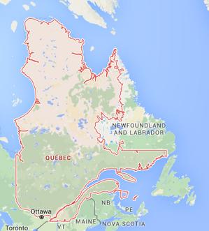 Quebec-Province-Map