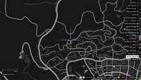 Vehicle Import Mobile GTAO Start West Vinewood Map
