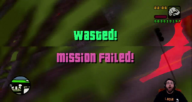 GTA VCS Wasted Mission Failed
