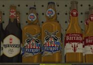 Patriot Beer GTAV Store Shelf