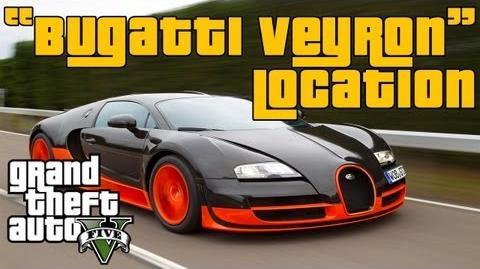 Video Gta 5 Buggatti Veyron Adder Location Secret Car Gta