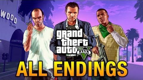Endings in GTA V