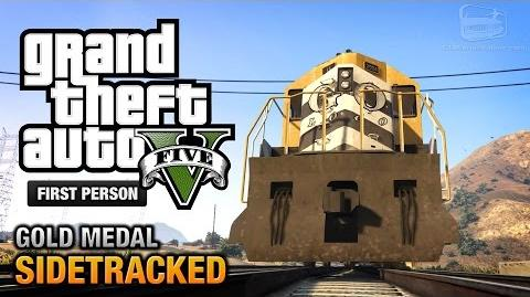 GTA 5 - Mission 78 - Sidetracked First Person Gold Medal Guide - PS4