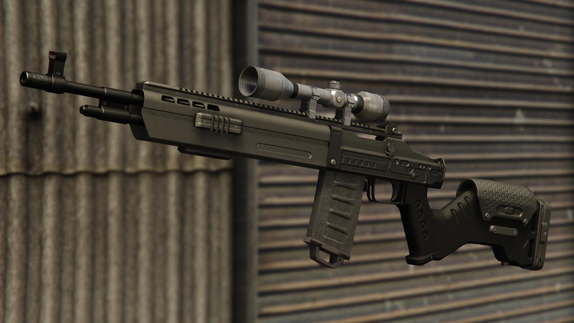 Marksman Rifle Mk II | GTA Wiki | FANDOM powered by Wikia