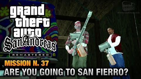 GTA San Andreas Remastered - Mission 37 - Are you going to San Fierro? (Xbox 360 PS3)