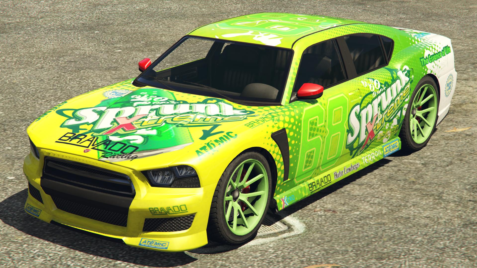 Grand Theft Auto Anime Car Paint