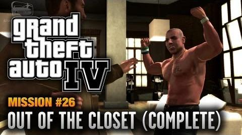 GTA 4 - Mission 26 - Out of the Closet Complete Mission (1080p)