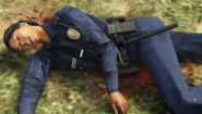 Officer Jernigan GTAO Chopper Tail Dead