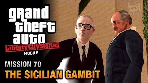 GTA Liberty City Stories Mobile - Ending Final Mission 70 - The Sicilian Gambit