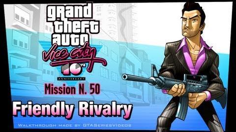 GTA Vice City - iPad Walkthrough - Mission 50 - Friendly Rivalry