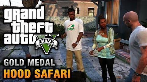 GTA 5 - Mission 27 - Hood Safari 100% Gold Medal Walkthrough