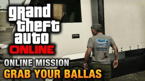 GTA Online - Mission - Grab Your Ballas Hard Difficulty