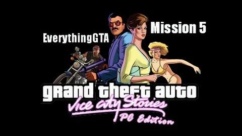 GTA Vice City Stories PC Edition Mission 5- Boomshine Blowout (Beta3)