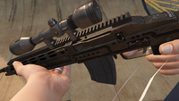 Marksman Rifle-GTAV-Markings