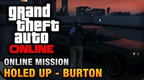 GTA Online - Mission - Holed Up - Burton Hard Difficulty