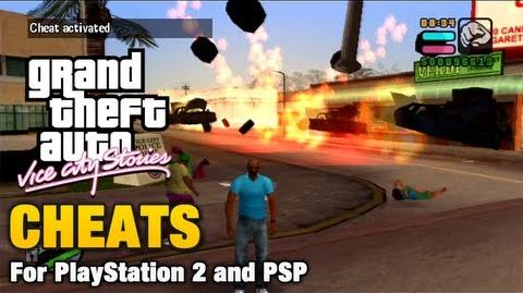 Cheats In Grand Theft Auto Vice City Stories Gta Wiki Fandom