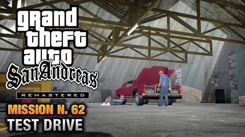 GTA San Andreas Remastered - Mission 62 - Test Drive (Xbox 360 PS3)
