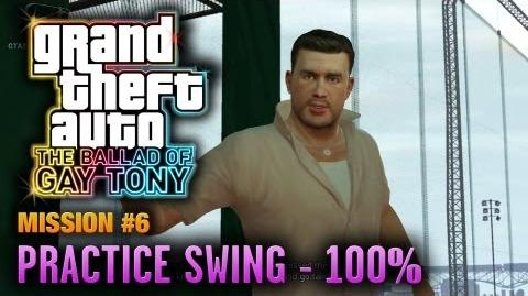 GTA The Ballad of Gay Tony - Mission 6 - Practice Swing 100% (1080p)