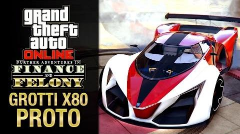 GTA Online Finance & Felony Update - Grotti X80 Proto