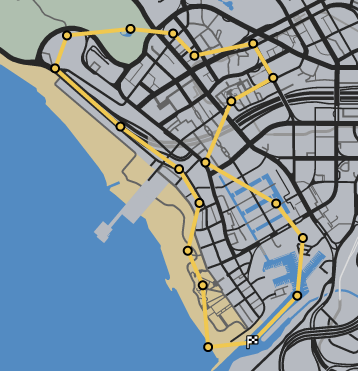 Grave Danger GTAO Race Map