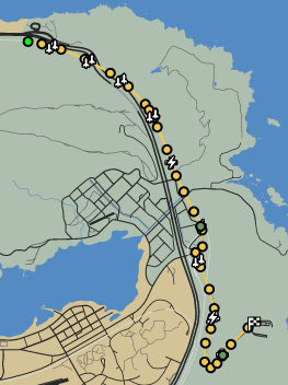 Off The Rails GTAO Race Map