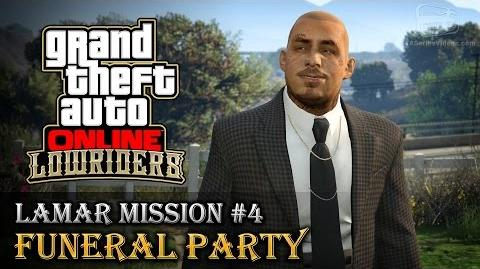 GTA Online Lowriders - Mission 4 - Funeral Party Hard Difficulty