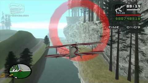 GTA San Andreas - Walkthrough - Air Race - Barnstorming (HD)