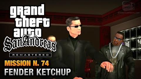 GTA San Andreas Remastered - Mission 74 - Fender Ketchup (Xbox 360 PS3)