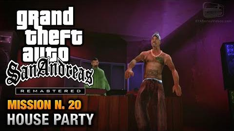 GTA San Andreas Remastered - Mission 20 - House Party (Xbox 360 PS3)