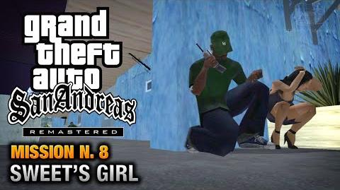 GTA San Andreas Remastered - Mission 8 - Sweet's Girl (Xbox 360 PS3)