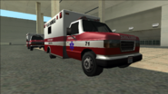 SanFierroMedicalCenter-GTASA-Ambulances
