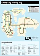 LC Subway Map