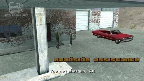 GTA San Andreas - Walkthrough - Beta Mission 4 - Roadside Assistance