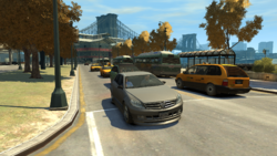 BusLane-GTAIV-NorthEast