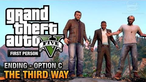 GTA 5 - Final Mission Ending C - The Third Way (Deathwish) First Person Gold Guide - PS4