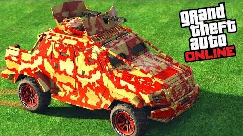 GTA Online - HVY Insurgent Pick-Up Custom -Gunrunning Update-