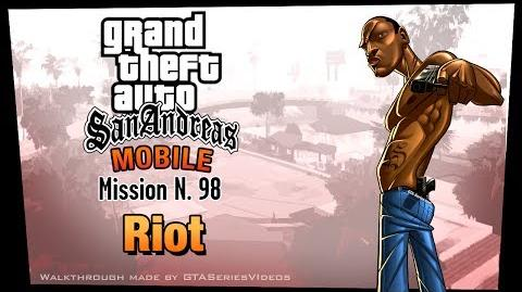 GTA San Andreas - iPad Walkthrough - Mission 98 - Riot (HD)