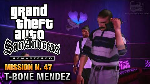 GTA San Andreas Remastered - Mission 47 - T-Bone Mendez (Xbox 360 PS3)