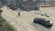 Rooftop Rumble-GTAO-FIB Agent at Destination