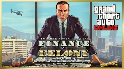 Grand Theft Auto GTA V 5 Online Finance and Felony - Power Play (Adversary Mode) Music Theme 4