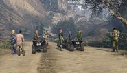 Offroad Race Cassidy Trail GTAV Start Point
