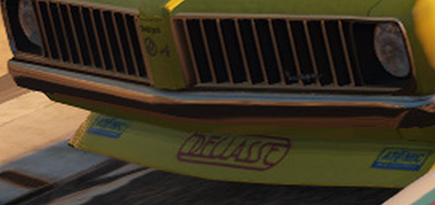 Stallion stock car gtav 8thgen declasse decal enlarged for the blind png