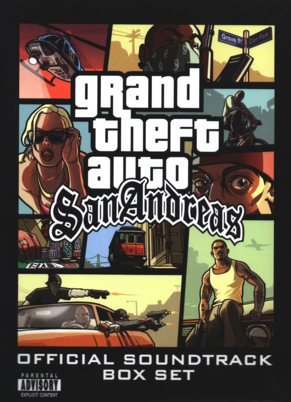 Grand Theft Auto: San Andreas: Official Soundtrack Box Set | GTA Wiki | FANDOM powered by Wikia