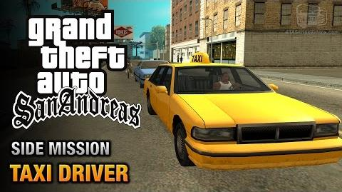 GTA San Andreas - Taxi Driver Yes I Speak English Trophy Achievement