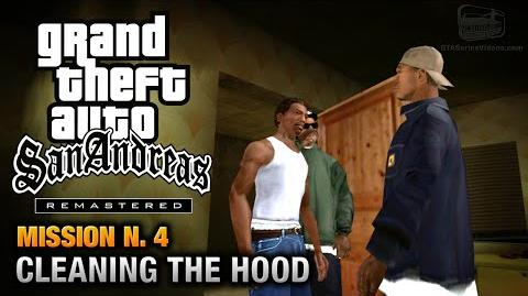 GTA San Andreas Remastered - Mission 4 - Cleaning the Hood (Xbox 360 PS3)