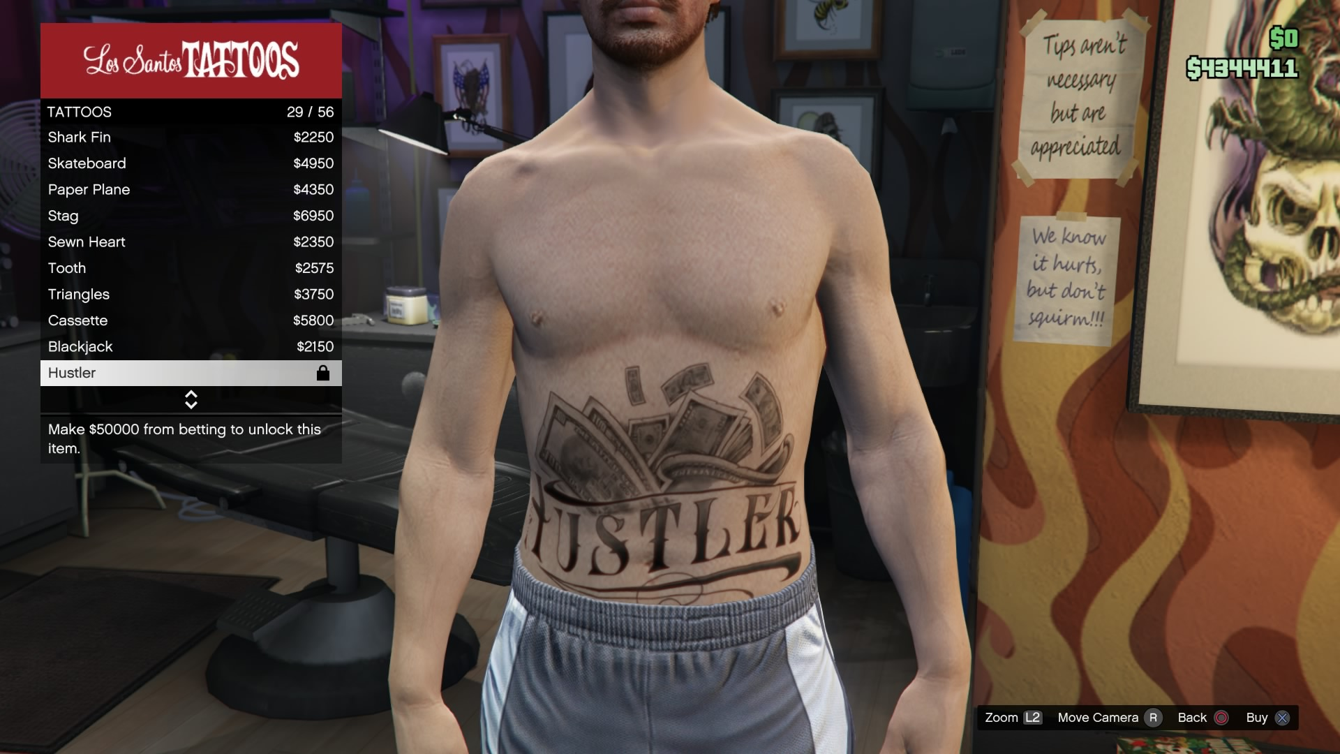 Hustler on line